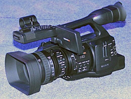 NAB07: Sony XDCAM EX Camcorder Plays Follow the Leader