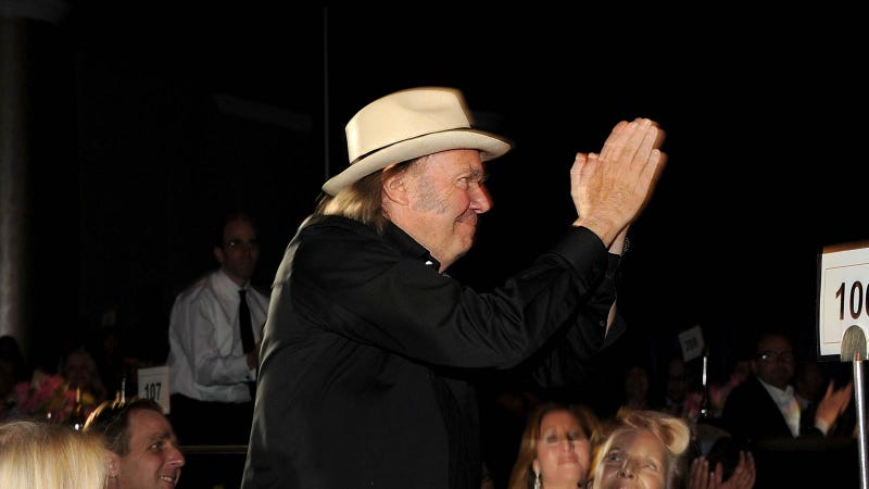 Why Does Neil Young Need Six High-Resolution Internet Music Stores?