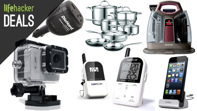 Deals: Cheaper Action Cams, Wireless Grill Thermometer, MacBook Airs