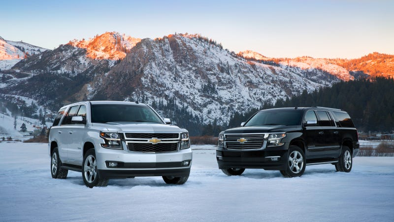 EPA Confirms Better Gas Mileage For 2015 GM Full-Size SUVs