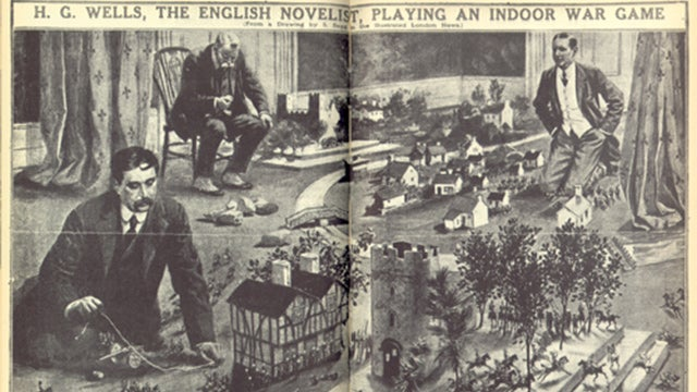 HG Wells Practically Invented Modern Tabletop Wargaming