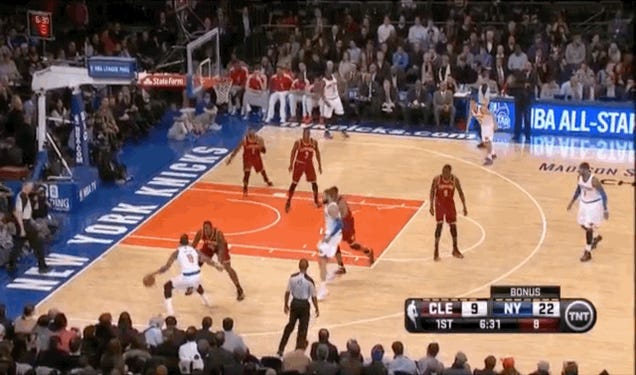J.R. Smith Torches Anthony Bennett For Nasty Dunk