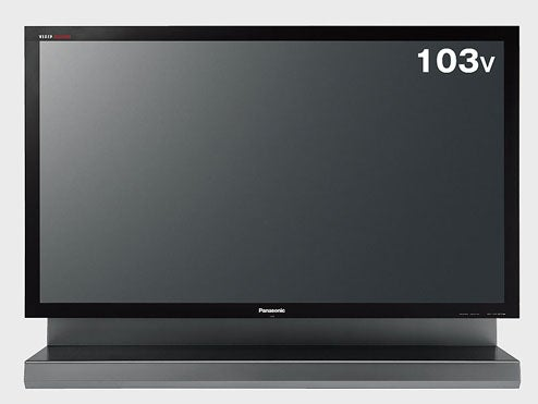 Panasonic Updates 103-inch Plasma, Drops Price by One Car