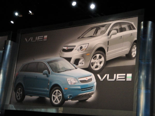 Exclusive! The 2008 Saturn Vue Greenline (Hybrid) And Redline (Not So Much) Live And In The Sheet Metal