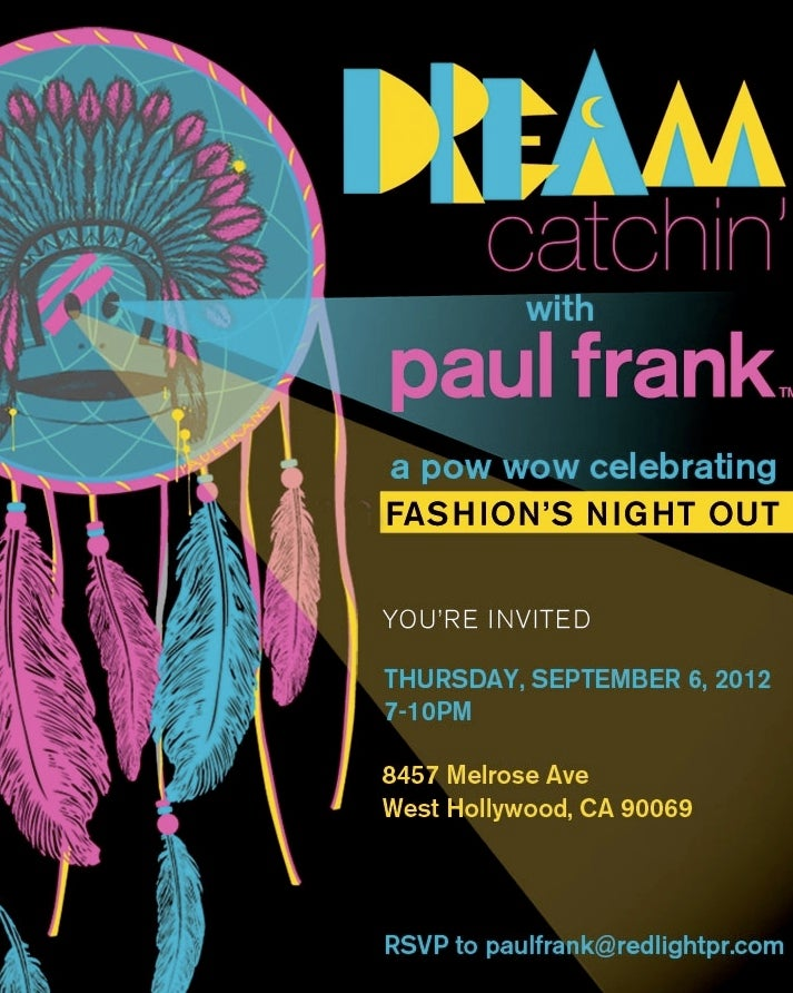 Paul Frank Celebrated Fashion Week With a Racist, Native American-Themed Dream Catchin' Extravaganza