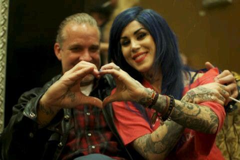 Kat Von D & Jesse James Have A Heart