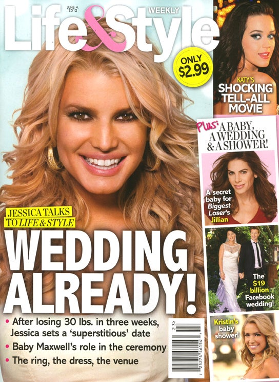 This Week In Tabloids: Jessica Simpson Would Rather Be a Single Mom Than a Fat Bride