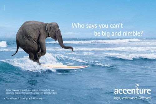 Accenture's New Ad Campaign, Post Tiger