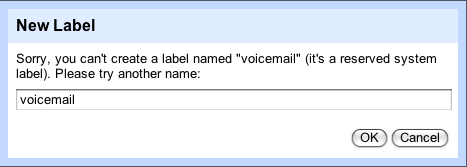 """Gmail Reserves """"Voicemail"""" Label, Google Voice Coming to Your Inbox"""