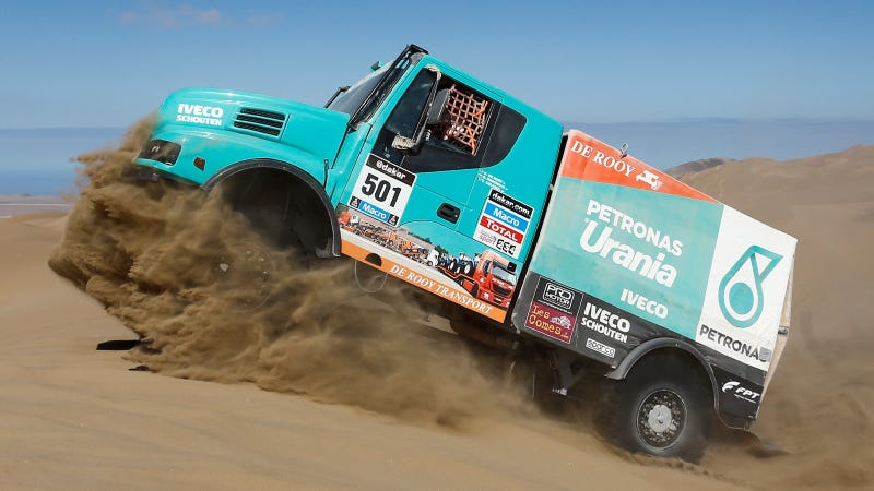 Iveco Beats Kamaz In Dakar Stage 12, Has One More Chance To Win