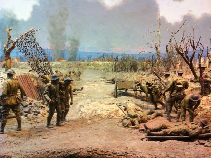Classic Dioramas Depict the Horrors of War