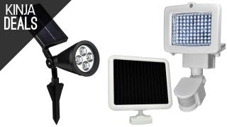 Illuminate Your Yard With These Solar-Powered Light Deals