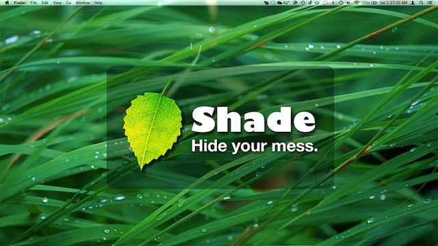 Shade Cleans the Clutter from Your Desktop with One Click