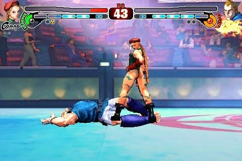 iPhone Street Fighter IV Gets New Challenger...For Free