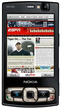 Test Skyfire Mobile Browser for Symbian S60 Phones