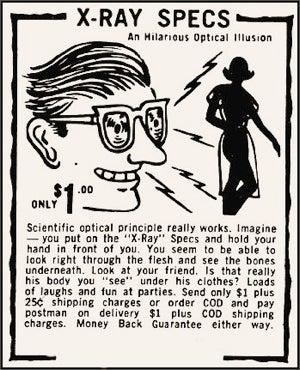 Crazy Classic Comic Book Ads