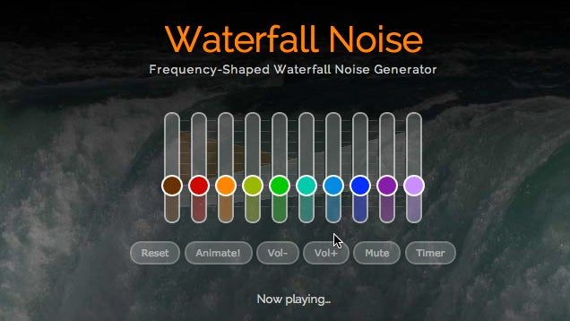MyNoise Customizes Background Noise to Your Hearing