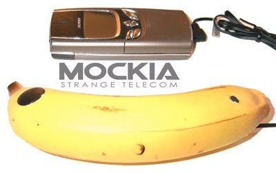 Banokia Banana-Shaped Cellphone Handsfree: Why Is This Real?