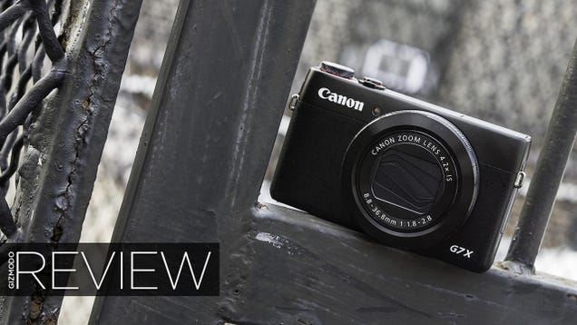 ​Canon G7 X Review: