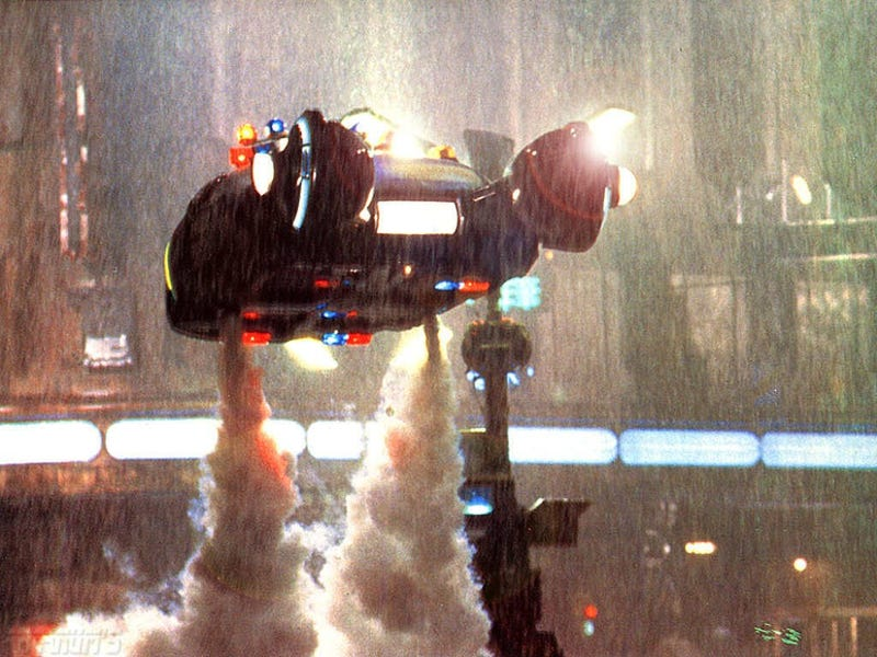 A Blade Runner-esque TV series, produced by Ridley Scott