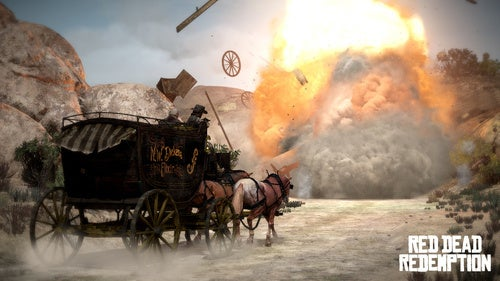 New Red Dead Redemption Screens Saddle Up