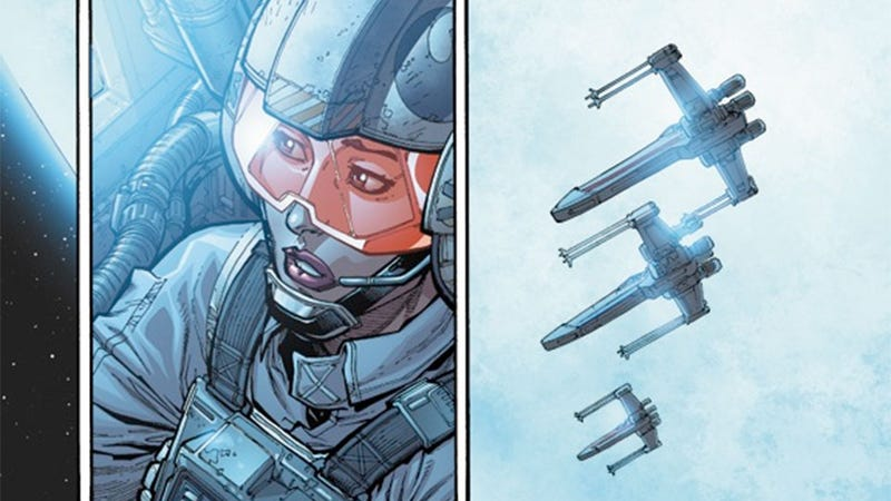 Princess Leia Is Now An X-Wing Fighter Pilot