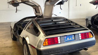 Started my Delorean's New Stage II Engine for the First Time