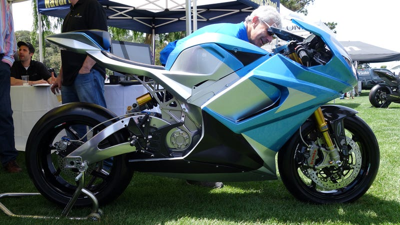 ​I'm Incredibly Afraid Of This 218 MPH Electric Bike