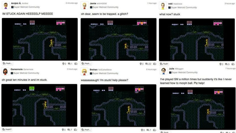 The Kids Of Today Seem To Be Struggling With Super Metroid