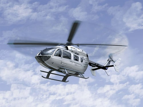 Mercedes-Benz Style EC145 Helicopter Gallery