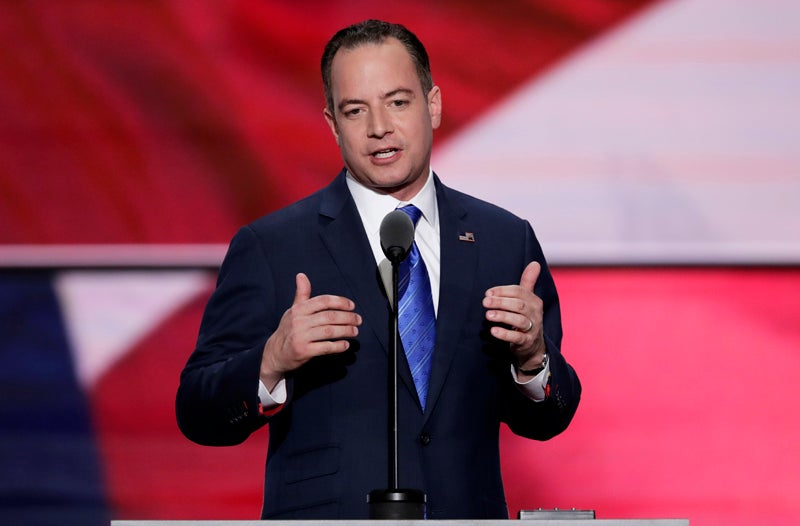 Reince Priebus Defends Donald Trump's Right to Imply Your Dad Killed JFK
