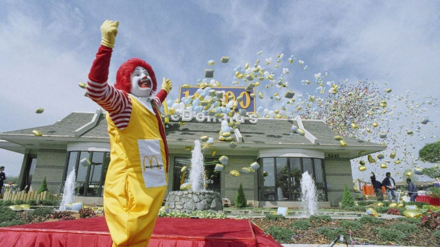 "CEO Insists Ronald McDonald's Hip, ""Does Not Advertise Unhealthy Food To Children"