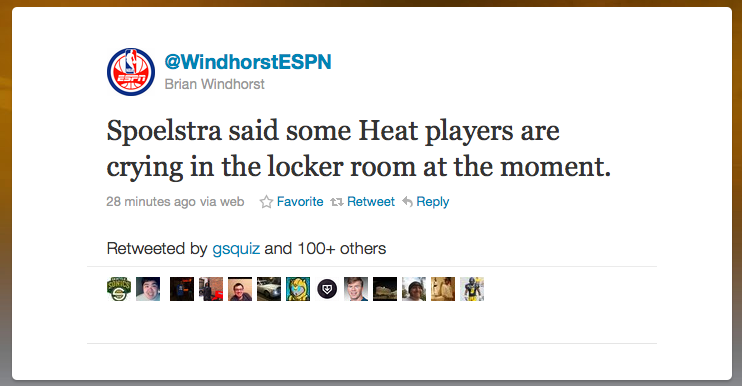 One Sentence Tells You All You Need To Know About The Miami Heat's State Of Mind