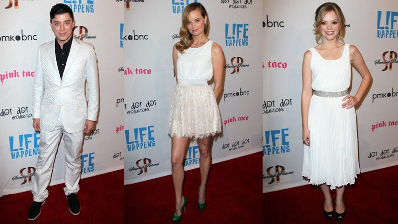 Phoebe Price Livens Up the Red Carpet at L!fe Happens Premiere