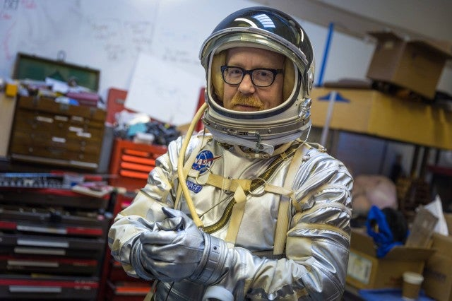 Adam Savage's Mercury Spacesuit Replica is absolutely gorgeous