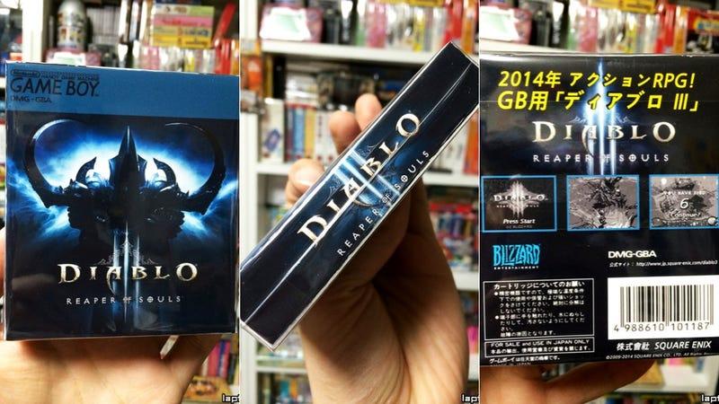 Diablo III: Reaper of Souls' Game Boy Version Isn't Always Online