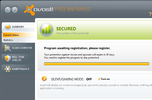 Avast Free Antivirus 5.0 Adds Behavior Monitor, Heuristics Engine, and Improved Performance