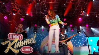 Watch Jenny Lewis and Ryan Adams Perform 'She's Not Me' on<i> Kimmel</i>