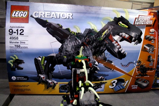 First Look: Lego Creator Monster Dino and Ferris Wheel