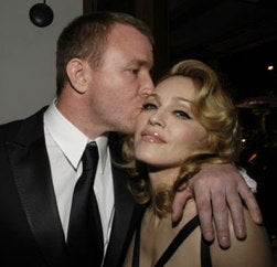 Did Madonna's Marriage-Contract Fridge-Art Push Guy Ritchie To The Brink?