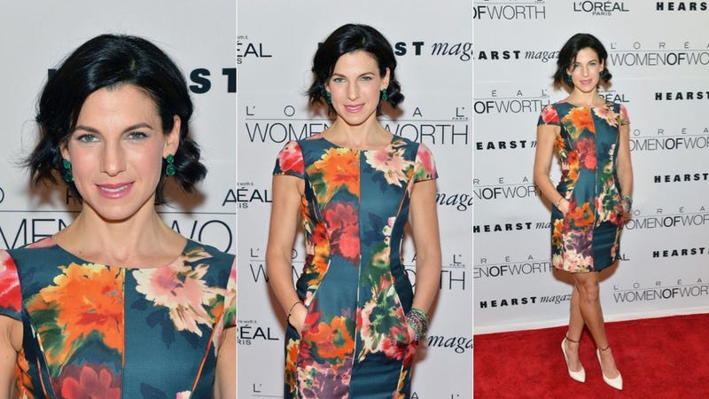 Dresses Both Dull and Bright at the Women of Worth Awards