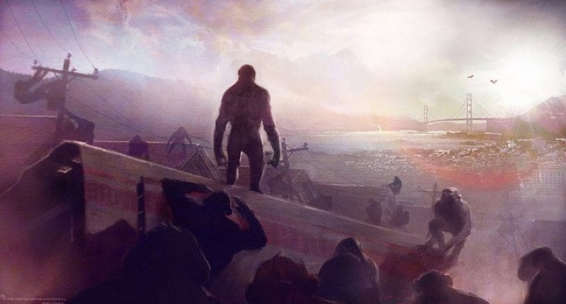 New footage and concept art from The Rise of the Planet of the Apes