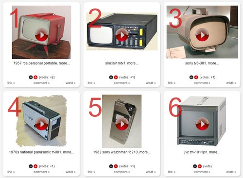 12 Vintage Portable Televisions Make You Glad To Be Alive in 2009