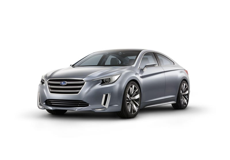 2015 Subaru Legacy Concept To Make World Debut At Lost Angeles Auto Show