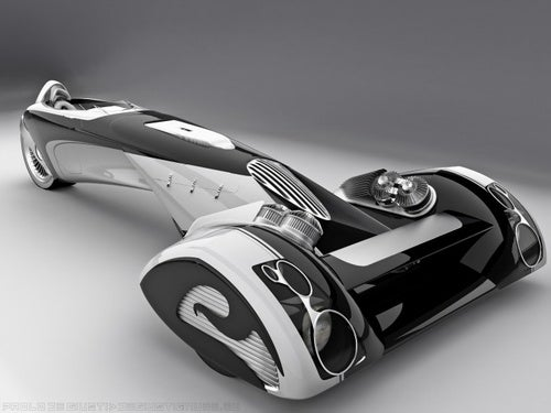 Design Student Out-Gillettes Ford With Egochine Concept