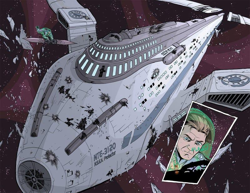Scott Lobdell Tells io9 The Fates of the Galaxy Quest Crew