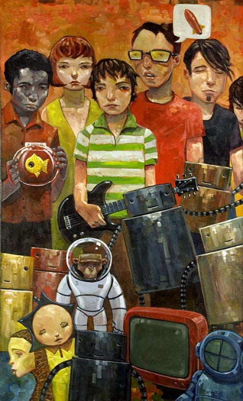 Aaron Jasinski: Retro SF Meets the Future