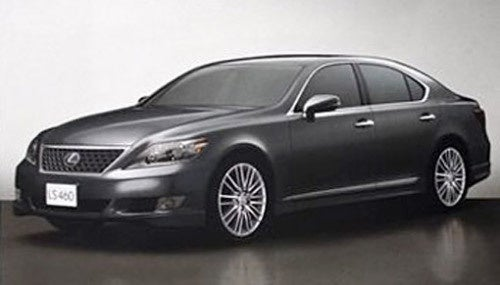 2010 Lexus LS Brochure Leaks 460 SZ Performance Model