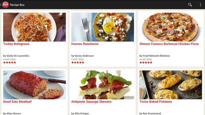The Food Network's New, Improved App Is Effing Amazing