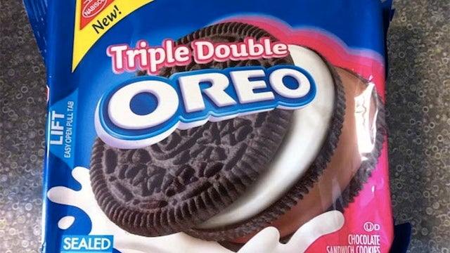 Triple Decker Oreo Signals Man's Progress Toward Superhuman Destiny